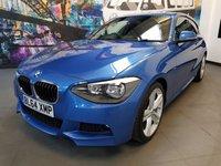 2015 BMW 1 SERIES 2.0 116D M SPORT 3d 114 BHP £11994.00