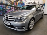 2013 MERCEDES-BENZ C CLASS 2.1 C250 CDI BLUEEFFICIENCY AMG SPORT 2d AUTO 204 BHP
