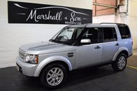 USED 2010 10 LAND ROVER DISCOVERY 4 2.7 3 TDV6 GS 5d AUTO 188 BHP