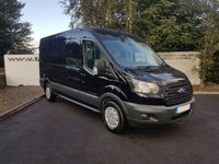 USED 2015 15 FORD TRANSIT 290 2.2 TREND L2 H2 125 BHP **70 VANS IN STOCK**