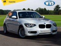 2013 BMW 1 SERIES 1.6 116D EFFICIENTDYNAMICS 5d 114 BHP £8499.00