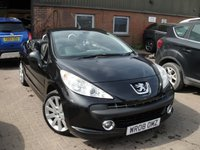 USED 2008 08 PEUGEOT 207 1.6 GT COUPE CABRIOLET 2d 118 BHP ANY PART EXCHANGE WELCOME, COUNTRY WIDE DELIVERY ARRANGED, HUGE SPEC