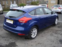 USED 2015 15 FORD FOCUS 1.0 ZETEC 5d 100 BHP ONE OWNER & £20 ROAD TAX