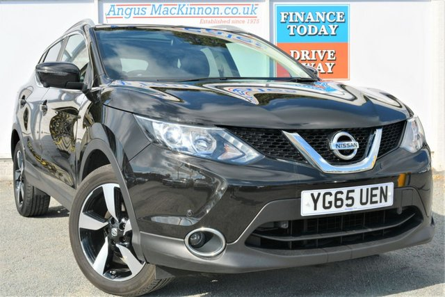 2015 65 NISSAN QASHQAI 1.5 DCI N-TEC PLUS 5dr Family SUV with Low Road tax and High 74mpg