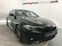 USED 2015 15 BMW 5 SERIES 2.0 520D M SPORT 4d AUTO 188 BHP *** SAT NAV ***