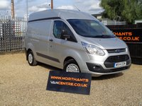 2014 FORD TRANSIT CUSTOM 2.2 310 TREND HIGH ROOF 5d 125 BHP £9990.00
