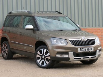 2015 SKODA YETI 2.0 OUTDOOR LAURIN AND KLEMENT TDI SCR 5d 148 BHP 4X4 £14995.00