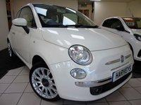 2010 FIAT 500 1.4 C LOUNGE 3d 99 BHP £5295.00