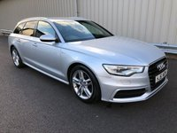 2011 AUDI A6 2.0 TDI AVANT ESTATE S LINE 175 BHP DIESEL MANUAL £9995.00