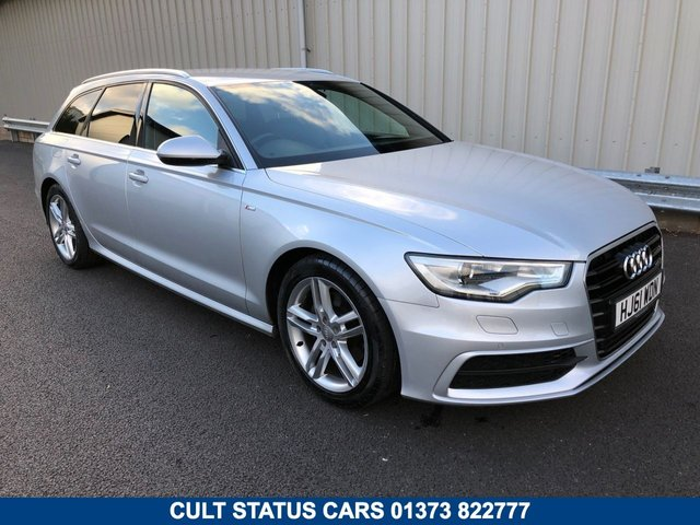 2011 61 AUDI A6 2.0 TDI AVANT ESTATE S LINE 175 BHP DIESEL MANUAL