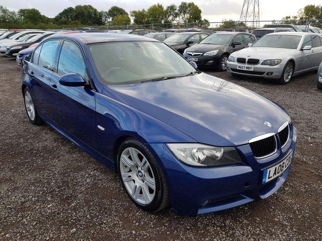 2008 08 BMW 3 SERIES 2.0 320D M SPORT 4d 174 BHP
