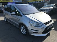 USED 2011 11 FORD S-MAX 2.0 TITANIUM X SPORT 5 DOOR AUTOMATIC 237 BHP IN SILVER WITH ONLY 66000 MILES AND ONLY 1 OWNER . APPROVED CARS ARE PLEASED TO OFFER THIS FORD S-MAX 2.0 TITANIUM X SPORT 5 DOOR AUTOMATIC 237 BHP IN SILVER WITH ONLY 66000 MILES IN IMMACULATE CONDITION INSIDE AND OUT WITH A GREAT SPEC INCLUDING LEATHER INTERIOR,SAT NAV,AIR CON,ALLOYS,BODY KIT,7 SEATS AND SO MUCH MORE WITH A FULL SERVICE HISTORY WITH 4 SERVICE STAMPS IN THE SERVICE BOOK A TRULY GREAT MPV 7 SEATER ONE OWNER WITH LOW MILEAGE.