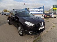 2011 NISSAN QASHQAI+2 1.6 TEKNA IS PLUS 2 5d 117 BHP £9495.00