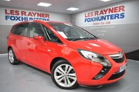 USED 2014 14 VAUXHALL ZAFIRA TOURER 2.0 SRI CDTI 5d 162 BHP Front and Rear park sensors, Privacy glass,DAB Radio, 1 Owner