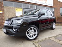 2014 JEEP COMPASS 2.1 CRD LIMITED 5d 161 BHP £SOLD