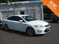 USED 2013 13 FORD MONDEO 2.0 TITANIUM X BUSINESS EDITION TDCI 5d 161 BHP Navigation-Bluetooth-Parking sensors-Rain sensors