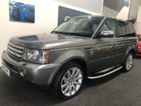 2008 LAND ROVER RANGE ROVER SPORT 3.6 TDV8 SPORT HSE 5d AUTO 269 BHP £SOLD