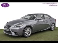 2014 LEXUS IS 2.5 300H LUXURY 4d AUTO 220 BHP £12495.00