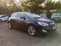 USED 2011 60 VAUXHALL ASTRA 2.0 CDTi ELITE 5d  WITH LEATHER AND ALLOYS NO DEPOSIT  FINANCE ARRANGED, APPLY HERE NOW