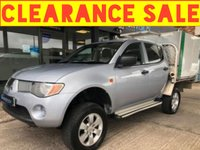 USED 2007 07 MITSUBISHI L200 2.5 4LIFE LWB DCB 4WD 1d 135 BHP AllyBacks Box Conversion with 12 months MOT, full service history