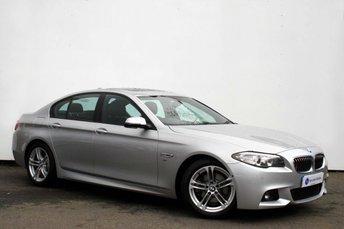 2013 BMW 5 SERIES 2.0 518D M SPORT 4d AUTO 141 BHP £13995.00