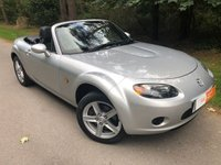 USED 2006 06 MAZDA MX-5 1.8 I 2d 125 BHP TWO KEYS - LOW MILEAGE - BLACK LEATHER INTERIOR - ELECTRIC WINDOWS AND MIRRORS - CENTRAL LOCKING & MORE