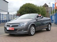 USED 2009 09 VAUXHALL ASTRA 1.8 TWIN TOP SPORT 3d  FULL VAUXHALL HISTORY ~ AIR CON ~ ELECTRIC ROOF ~ REAR PARK SENSORS
