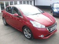 2014 PEUGEOT 208 1.6 ALLURE 5d AUTO 120 BHP £7495.00