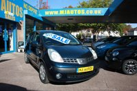 2006 NISSAN NOTE 1.4 SE 5dr 87 BHP £1795.00