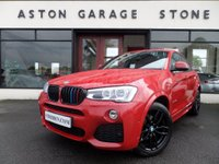 2014 BMW X4 3.0 XDRIVE30D MSPORT ** PRO MEDIA PK * SUNROOF * F/D/S/H** £25750.00