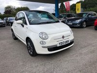 2013 FIAT 500 1.2 LOUNGE 3d 69 BHP £6499.00