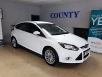 USED 2012 62 FORD FOCUS 1.0 ZETEC 5d 99 BHP * ONE OWNER * LOW MILES *