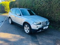 2006 BMW X3 3.0 D SE 5d AUTO 215 BHP £3995.00
