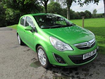 2012 VAUXHALL CORSA 1.4 SE 5d AUTO 98 BHP £6495.00
