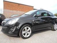 USED 2015 15 VAUXHALL CORSA 1.2 SXI AC 3d 83 BHP 1 FORMER KEEPER FROM NEW
