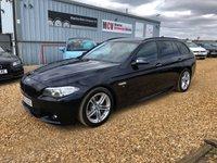 2014 BMW 5 SERIES 2.0 525D M SPORT TOURING 5d 215 BHP £12990.00