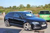 2012 AUDI A3 2.0 TDI S LINE SPECIAL EDITION 3d 138 BHP £9475.00
