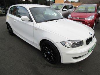 2010 BMW 1 SERIES 2.0 116D SE 3d 114 BHP £SOLD