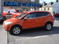 """USED 2011 11 FORD KUGA 2.0 ZETEC TDCI 4WD 5d 138 BHP2 1 LADY OWNER,ONLY 54000 MILES FROM NEW,""""FOUR WHEEL DRIVE"""""""