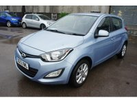 USED 2013 13 HYUNDAI I20 1.2 ACTIVE 5d 84 BHP Only £30 Road Tax & 37,000 Miles, Bluetooth, Air Con, 12 Mths Mot & Serviced on Delivery !
