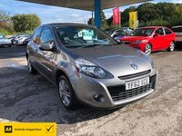 USED 2012 62 RENAULT CLIO 1.1 DYNAMIQUE TOMTOM 16V 3d 75 BHP