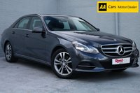 USED 2013 63 MERCEDES-BENZ E CLASS 2.1 E220 CDI SE 4d 168 BHP DAB +HEATED LEATHER +SATNAV