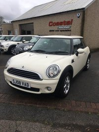 2008 MINI HATCH ONE 1.4 ONE 3d 94 BHP £3395.00