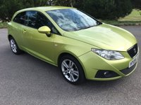 USED 2009 09 SEAT IBIZA 1.4 SPORT 3d 85 BHP LOCAL CAR WITH LONG MOT TAKEN IN P/X BY US DRIVES SPOT ON