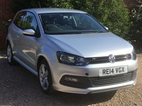 2014 VOLKSWAGEN POLO 1.2 R-LINE STYLE AC 3d 60 BHP £6895.00