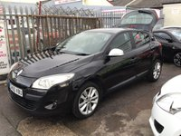 USED 2010 60 RENAULT MEGANE 1.5 I-MUSIC DCI 5d 106 BHP Diesel, low road tax, economical, great value, superb.
