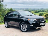 USED 2012 61 LEXUS RX 3.5 450H ADVANCE PAN ROOF 5d AUTO 295 BHP