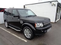 USED 2010 60 LAND ROVER DISCOVERY 3.0 4 TDV6 HSE 5d AUTO 245 BHP £381 A MONTH FULL SERVICE HISTORY HEATED BLACK LEATHER ELECTRIC SEATS SATELLITE NAVIGATION TERRAIN SWITCH BLUETOOTH ETC ETC
