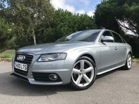 USED 2008 S AUDI A4 2.0 TDI S LINE 4d  141 BHP FACELIFT S LINE A4 WITH FSH