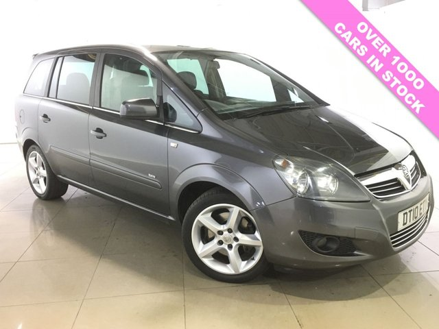 View our 2010 10 VAUXHALL ZAFIRA 1.9 SRI CDTI 5d 150 BHP
